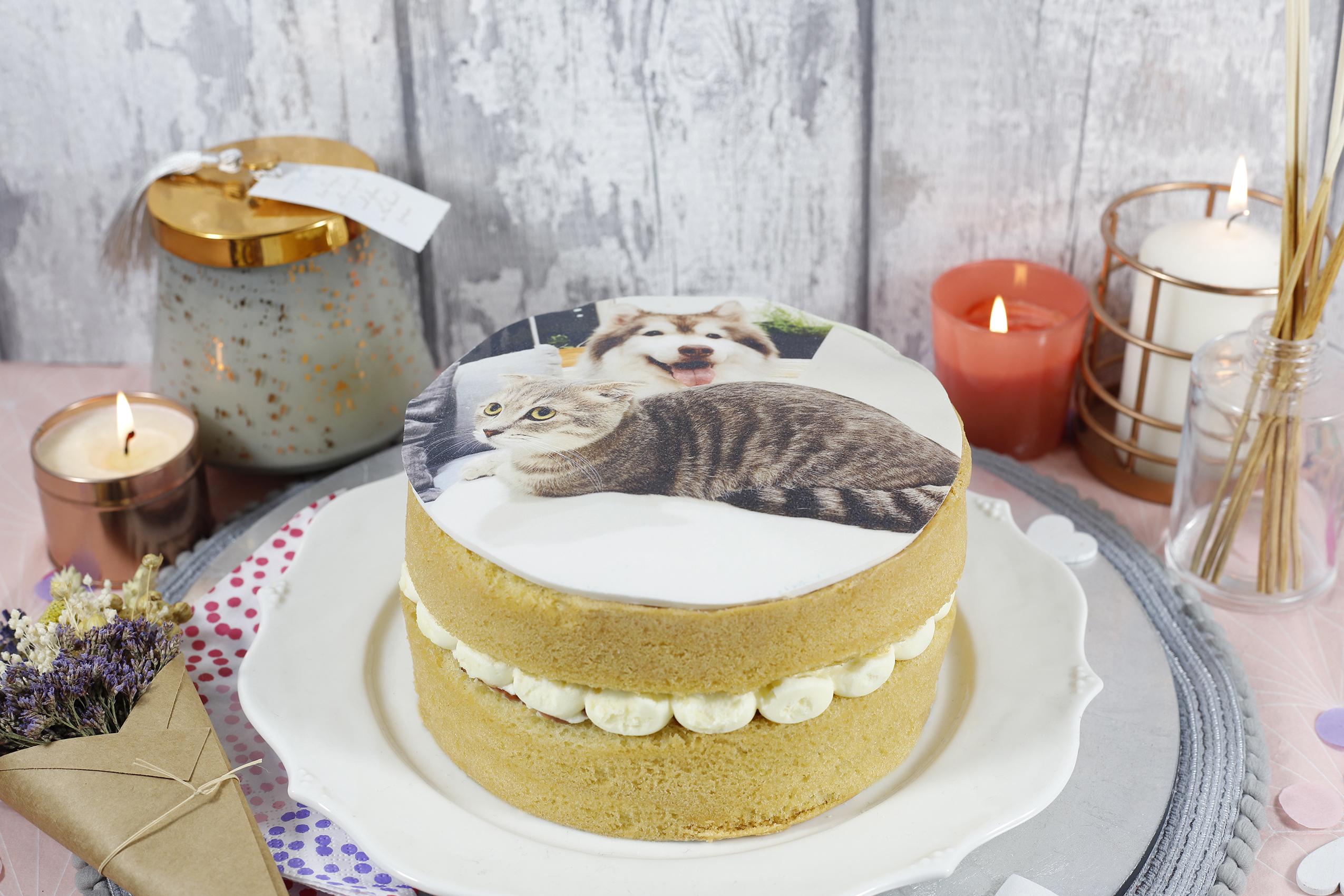 Victoria Photo Cake