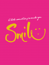 Smile Get Well Soon Card - Letterbox gifts - Cake Card