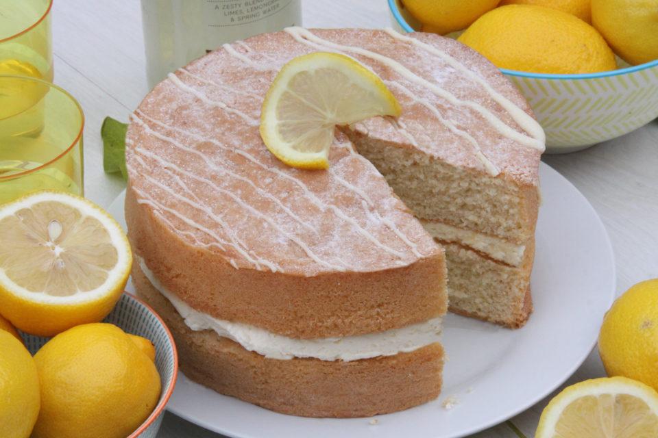 Lemon Cake for christening