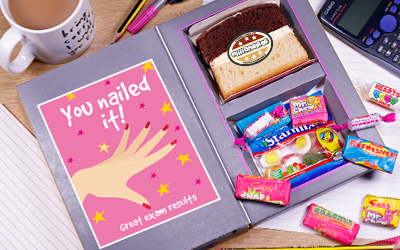 Exam Results Gifts Cake Card