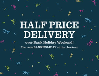 Bank Holiday delivery discount - Thumbnail
