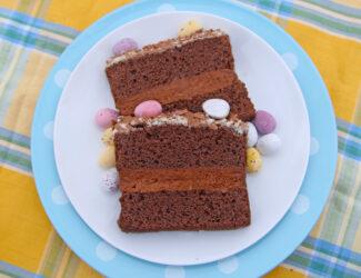Easter Cake Slice - Thumbnail
