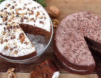 Egg free cakes - buy online