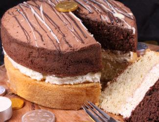 Gluten Free Millionaires Cake