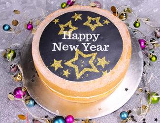 Happy New Year Sponge