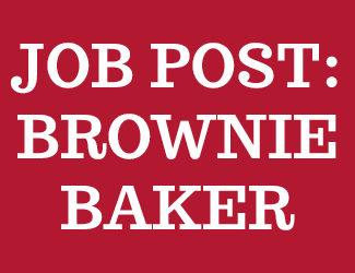 Job post Brownie Baker Hero