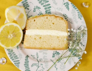 Lemon & Elderflower Cake Slice - Thumbnail