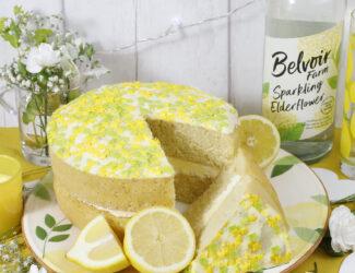 Lemon and Elderflower Cake - Thumbnail