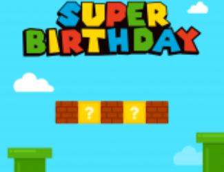 Mario Landscape birthday card - Birthday Cards - Cake Card