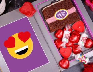 Sponge Blogs letterbox cakes