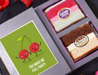 Valentine's Cake Cards