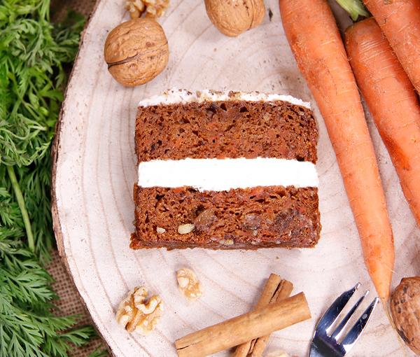 Vegan & Dairy Free Carrot