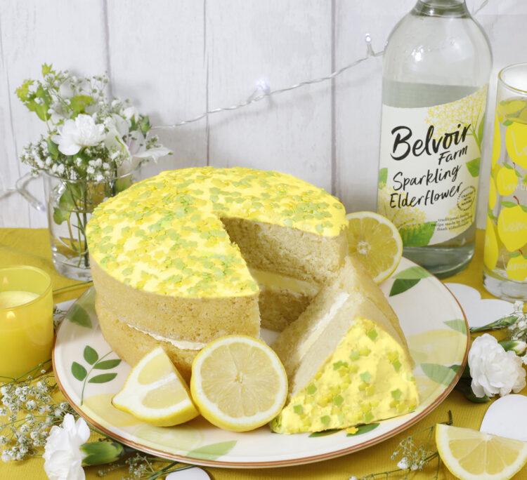 Gluten Free Lemon and Elderflower Cake