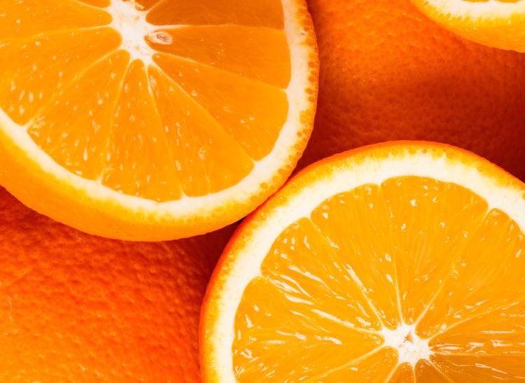 Oranges- cut