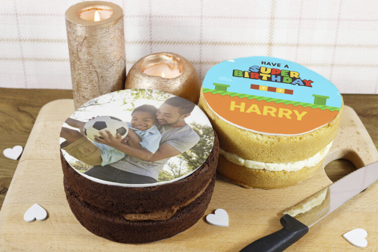 Photo Cakes - Cake Toppers - Personalised Cakes