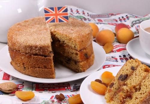Gluten and Dairy Free Elizabeth Cake