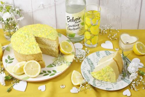 Gluten Free Lemon & Elderflower Cake