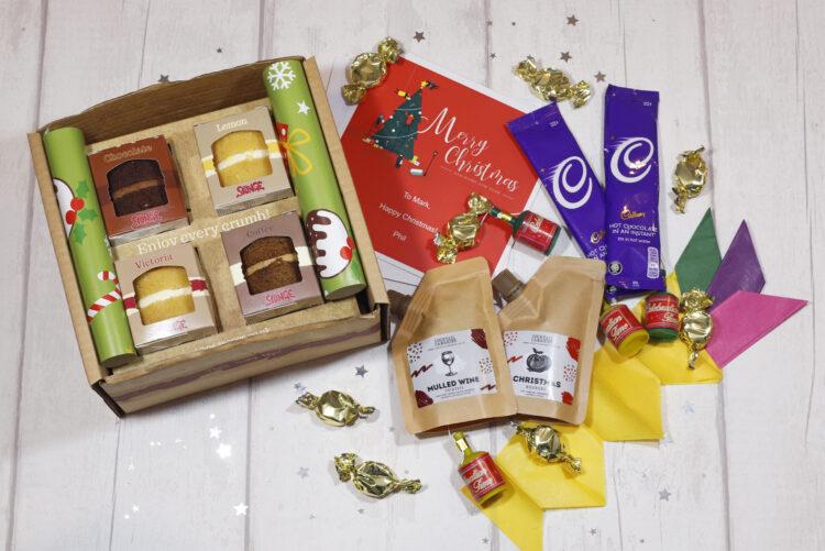 Sponge Christmas Gift Box