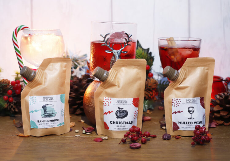Christmas Cocktail Pouches