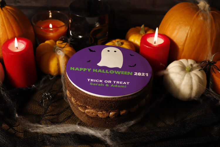 Halloween Photo Cakes