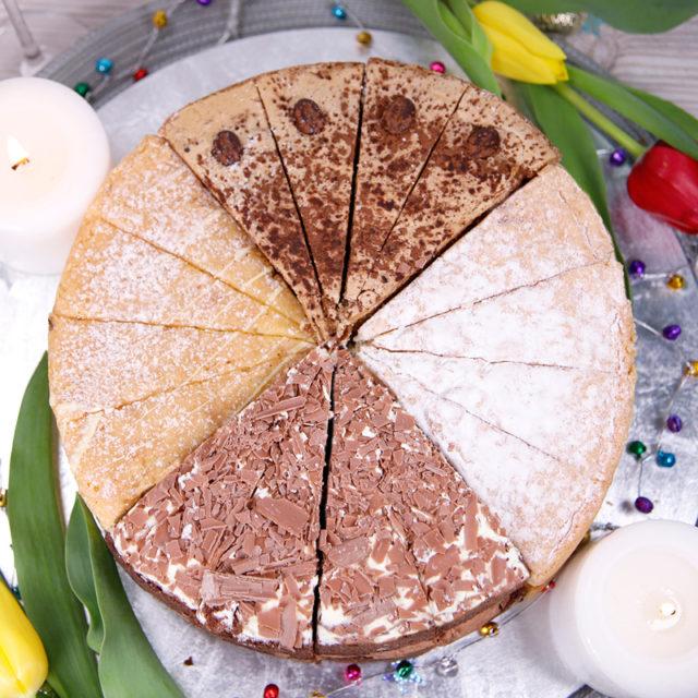 SHARING SPONGE CAKES