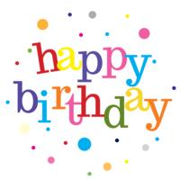 Happy Birthday Cake Top