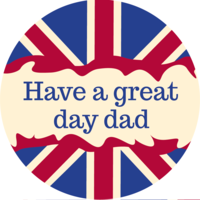 Have a Great Day Dad Cake Top